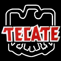 Tecate Eagle Print Logo Beer Sign Neon Sign