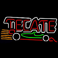 Tecate Indy Car Beer Sign Neon Sign