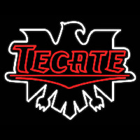 Tecate Real Neon Glass Tube Neon Sign