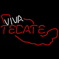 Tecate Viva Me ico Beer Sign Neon Sign