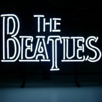 The Beatles Fab Four Neon Sign