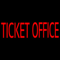 Ticket Office Neon Sign