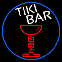 Tiki Bar Martini Neon Sign