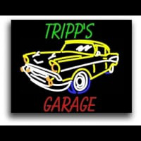 Tripp Garage Neon Sign