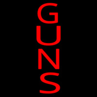 Vertical Guns Neon Sign