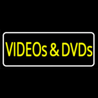 Videos And Dvds Neon Sign