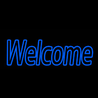 Welcome 1 Neon Sign