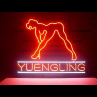 Yuengling Live Nudes Girl Neon Sign