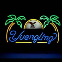 Yuengling Palm Tree Neon Sign