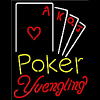 Yuengling Poker Ace Series Beer Sign Neon Sign