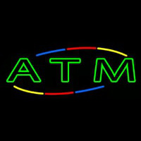 Deco Style Atm Neon Sign