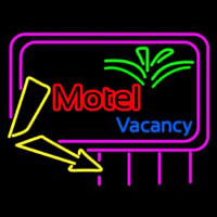 Funky Motel Vacancy Neon Sign