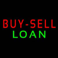 Buy Sell Loan Neon Sign