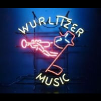 wurlttzer music Neon Sign